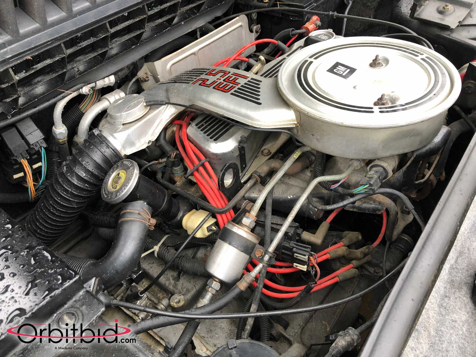 1984 Fiero Pace Car Engine