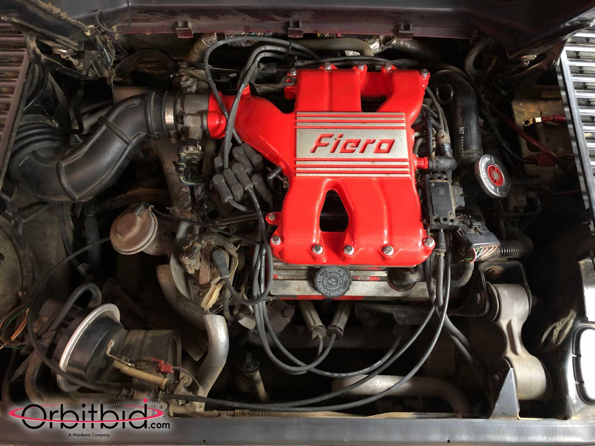 1987 Fiero Custom Convertible Engine
