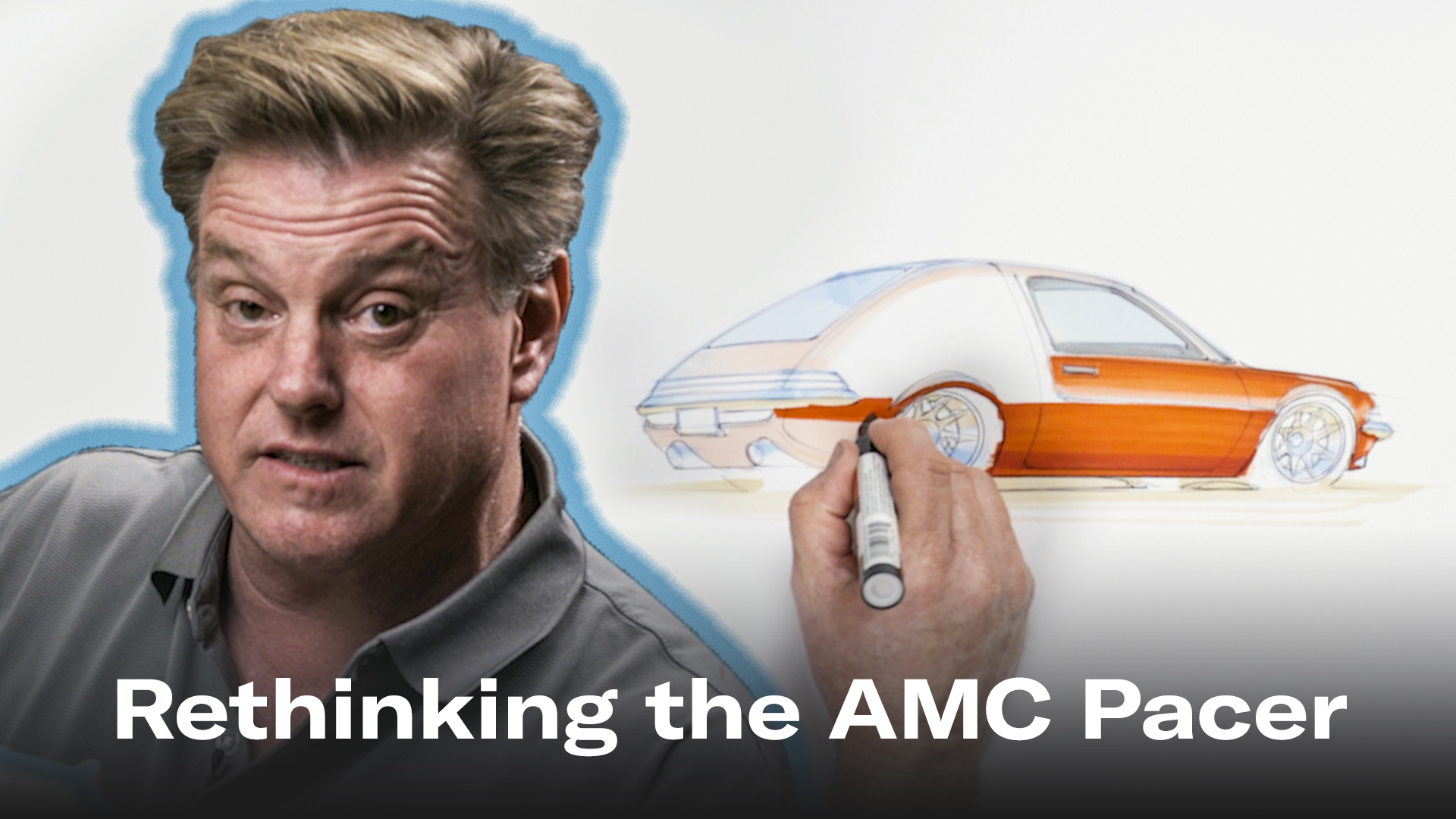 Chip Foose draws a Pacer
