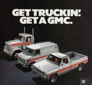 1977 GMC Sarge truck and van