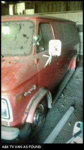 1975 Chevrolet G10 Van Found Condition