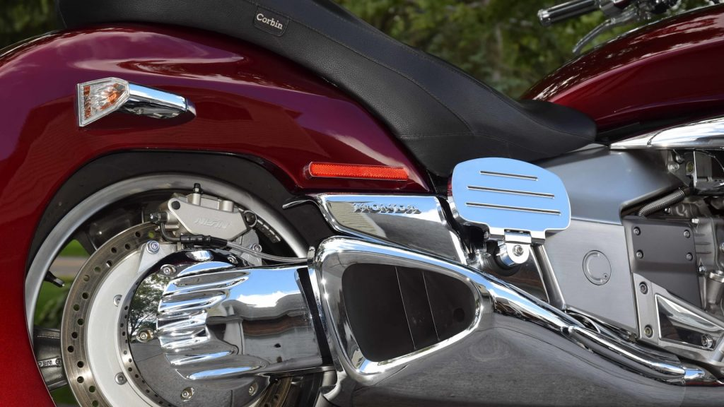 Honda Rune shaft drive detail