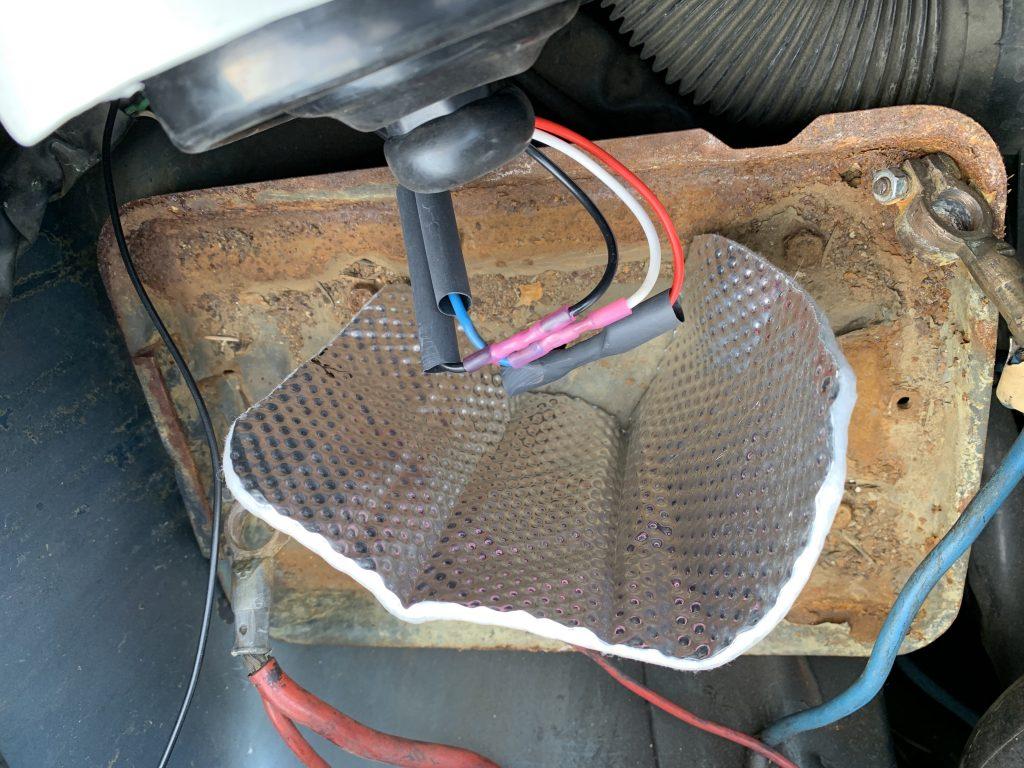 volvo 240 e-code headlight install