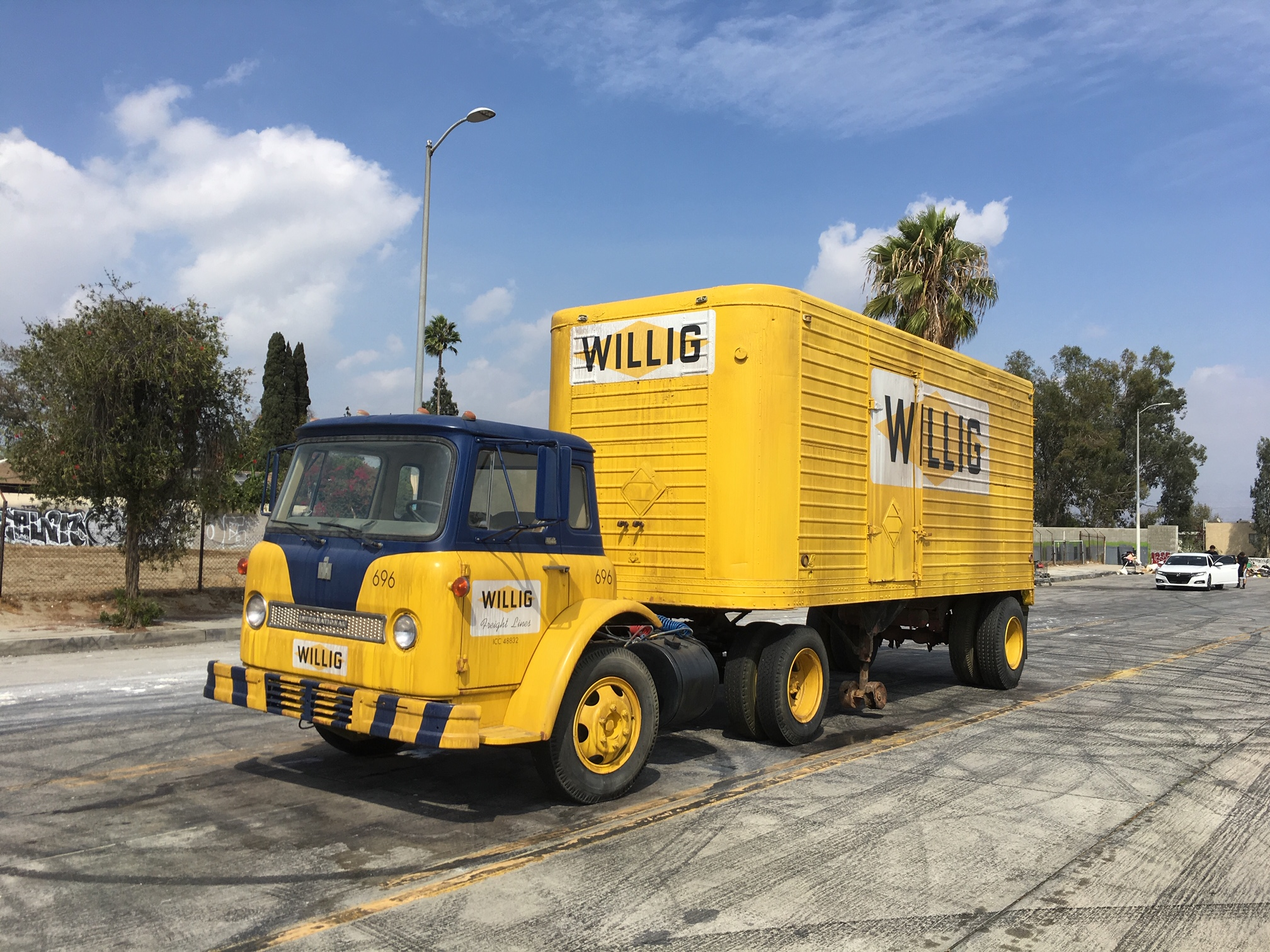 Willig Movie Truck Prop