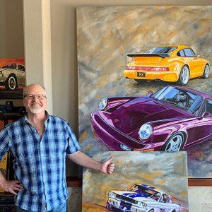 In Conversation with Kelly Telfer, Automotive Artist