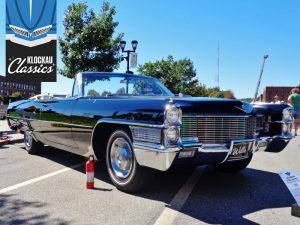 1965 Cadillac de Ville Convertible Front Three-Quarter