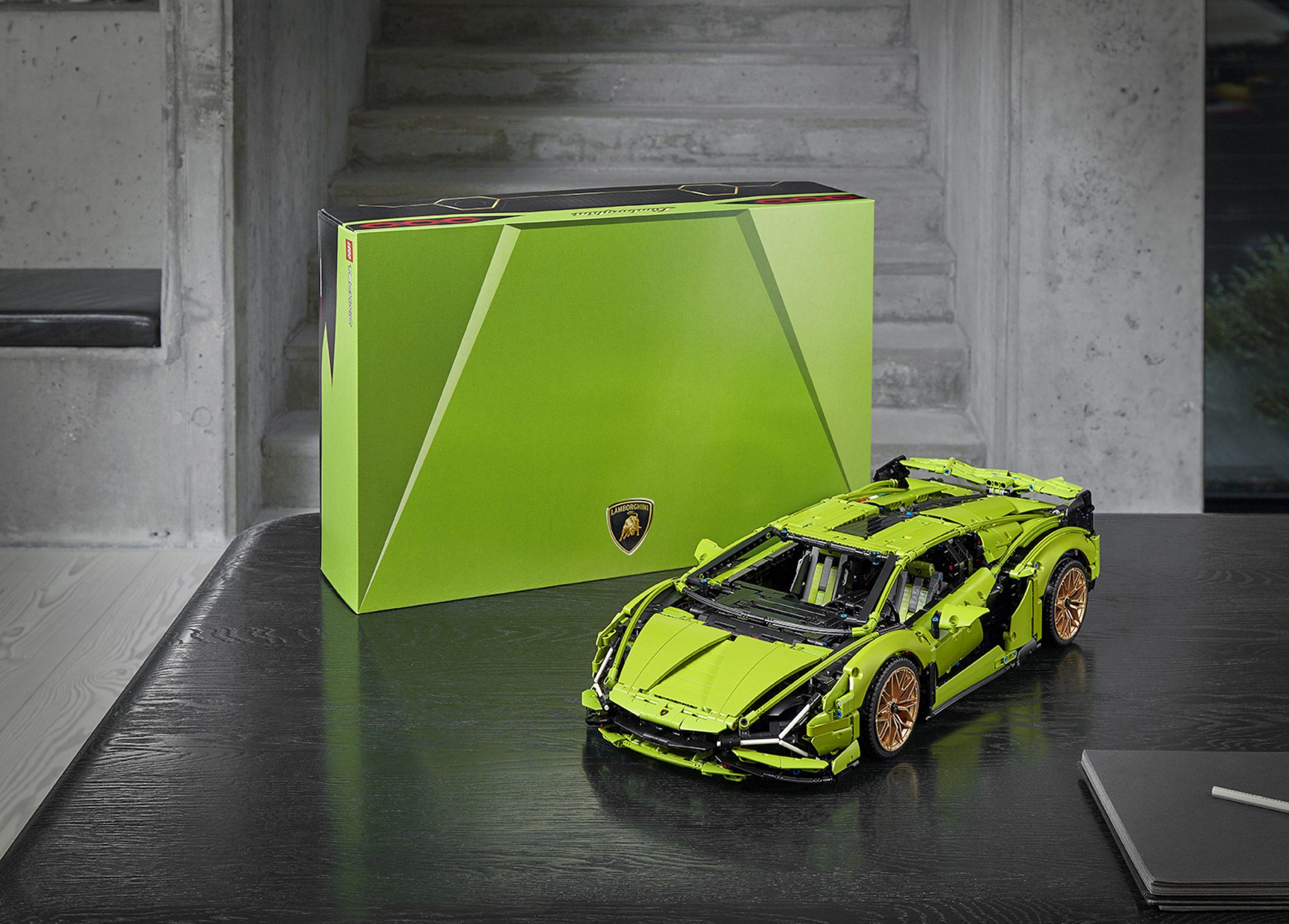 LEGO Lamborghini Sian With Box