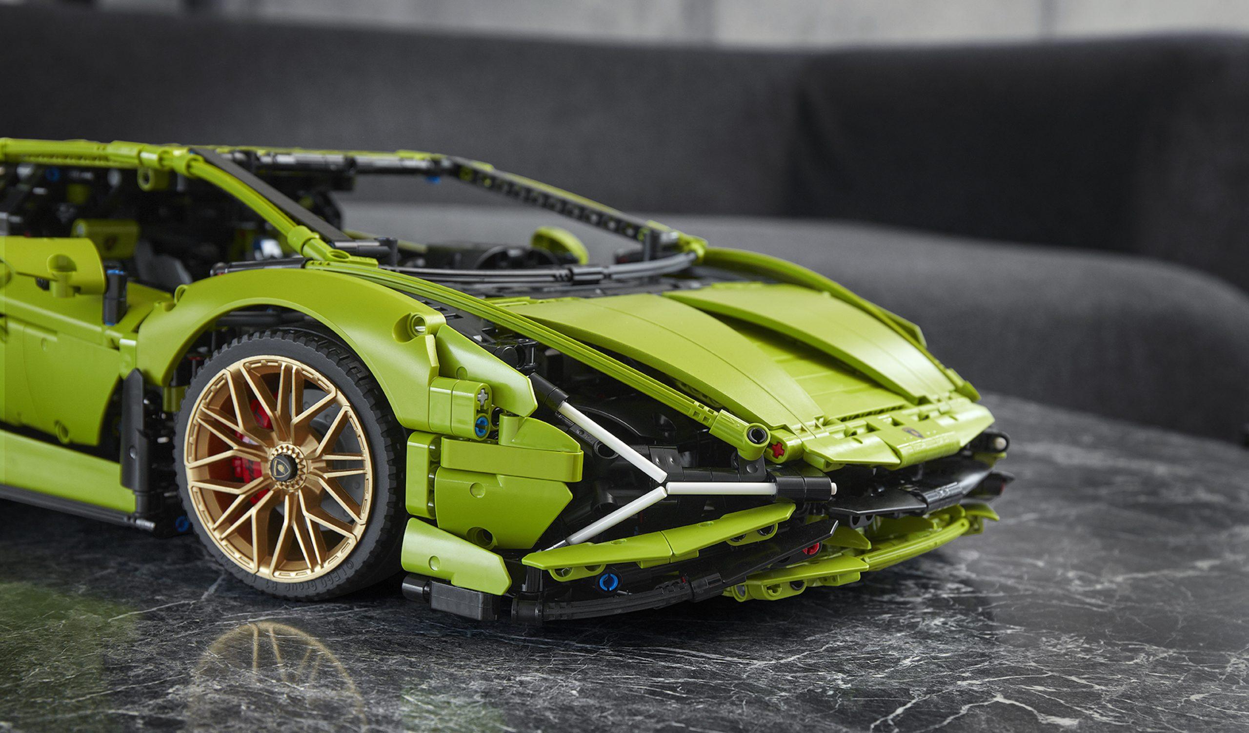 LEGO Lamborghini Sian Front Fascia