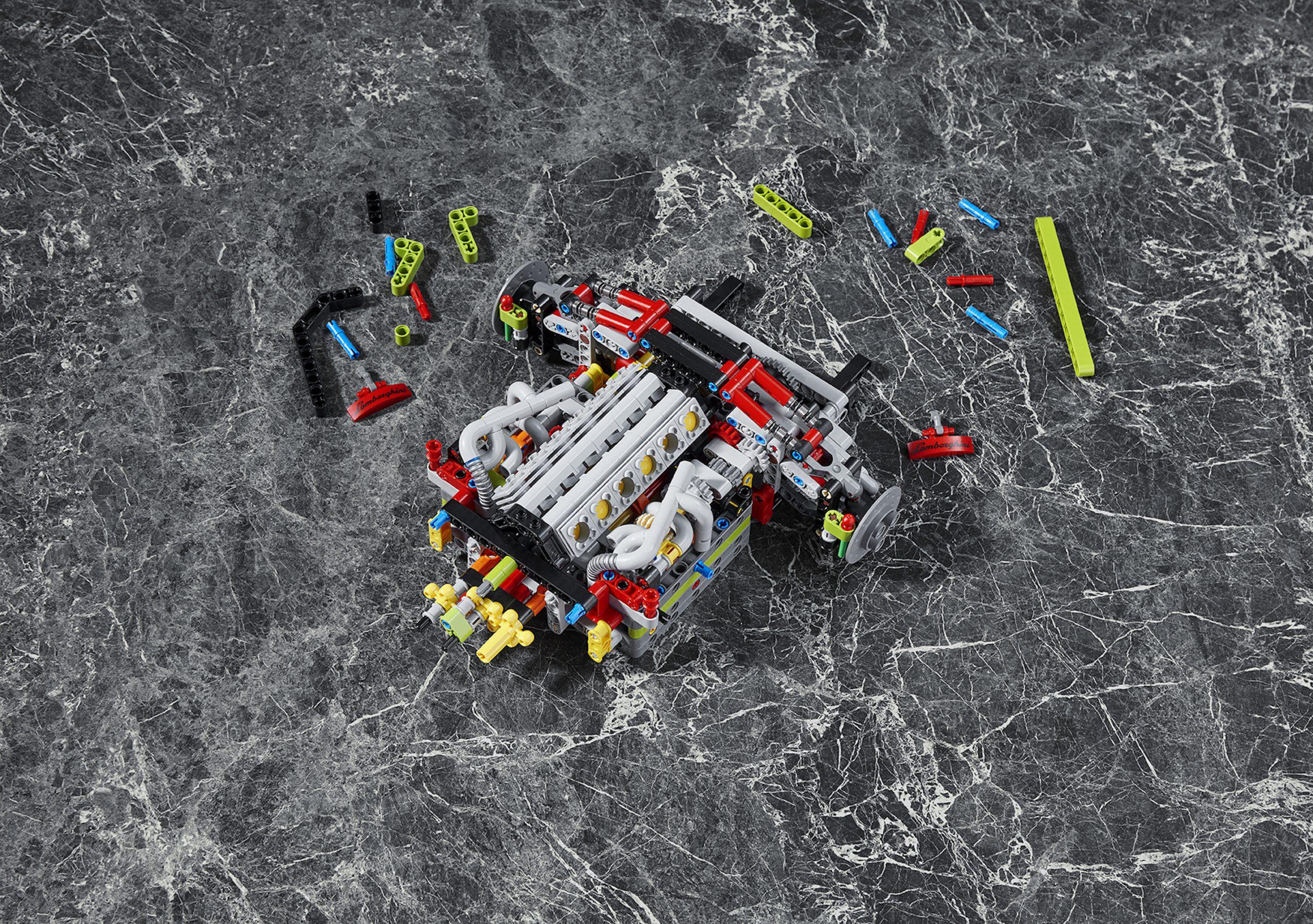 LEGO Lamborghini Sian Engine