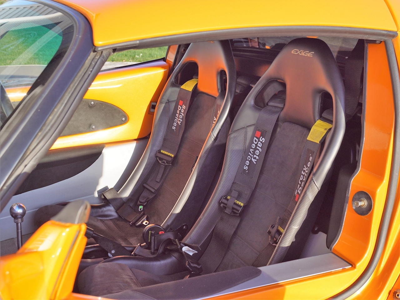 Lotus Exige S1 Interior Racing Seats