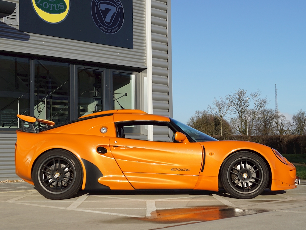Lotus Exige S1 Side Profile Right