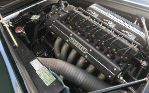 vintage maserati vignale spyder engine