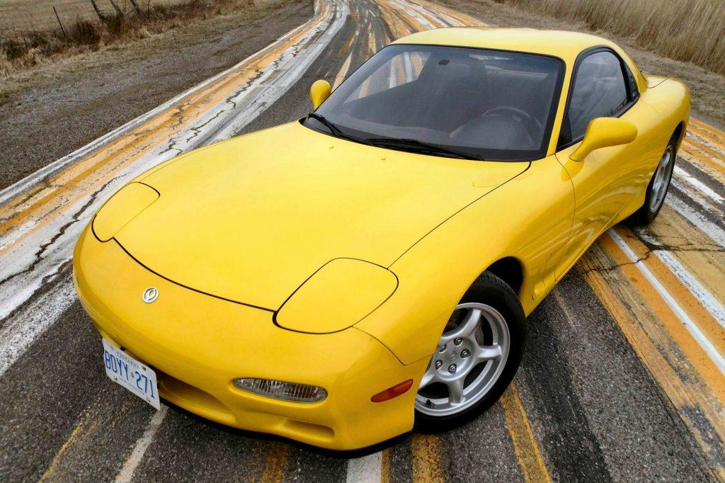 Mazda RX7 Front Three-Quarter