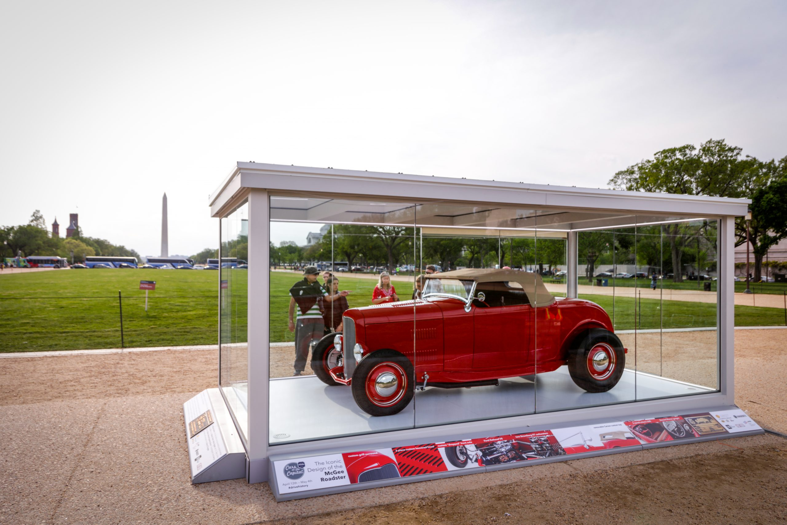 McGee Roadster - 1932 Ford - HVA Cars at the Capital 2