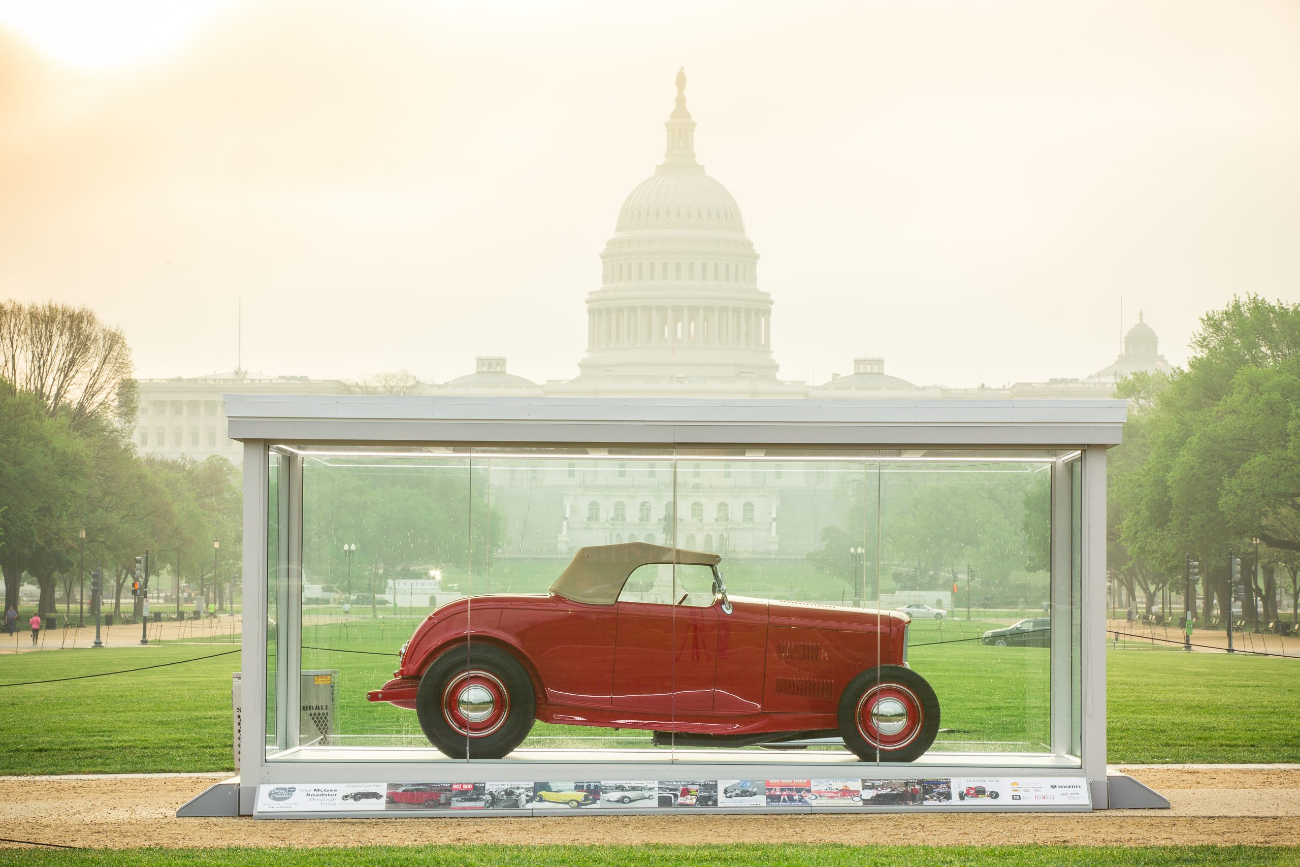 McGee Roadster - 1932 Ford - HVA Cars at the Capital 9