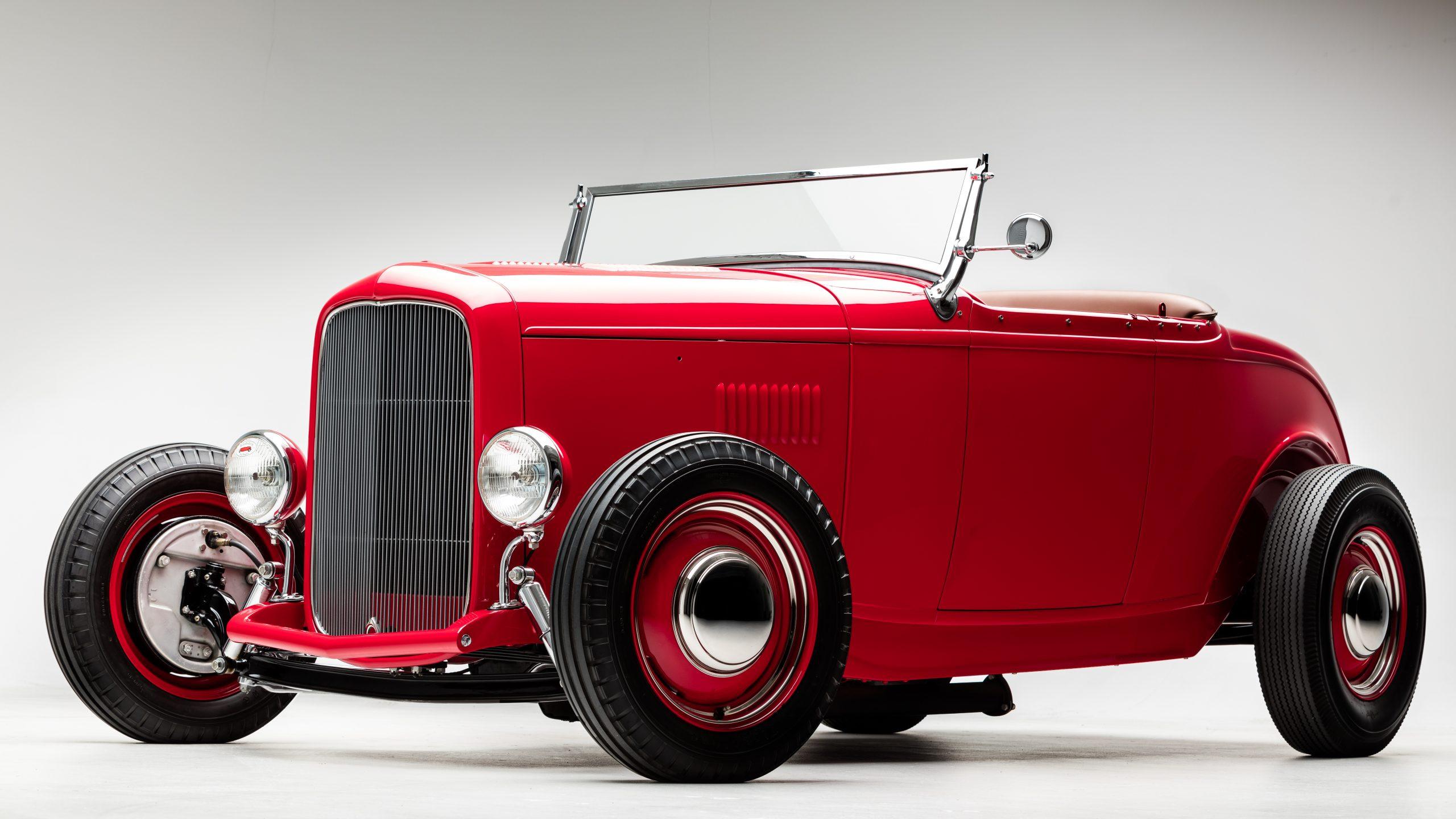 McGee Roadster - 1932 Ford - HVA - Studio 1 full body shot