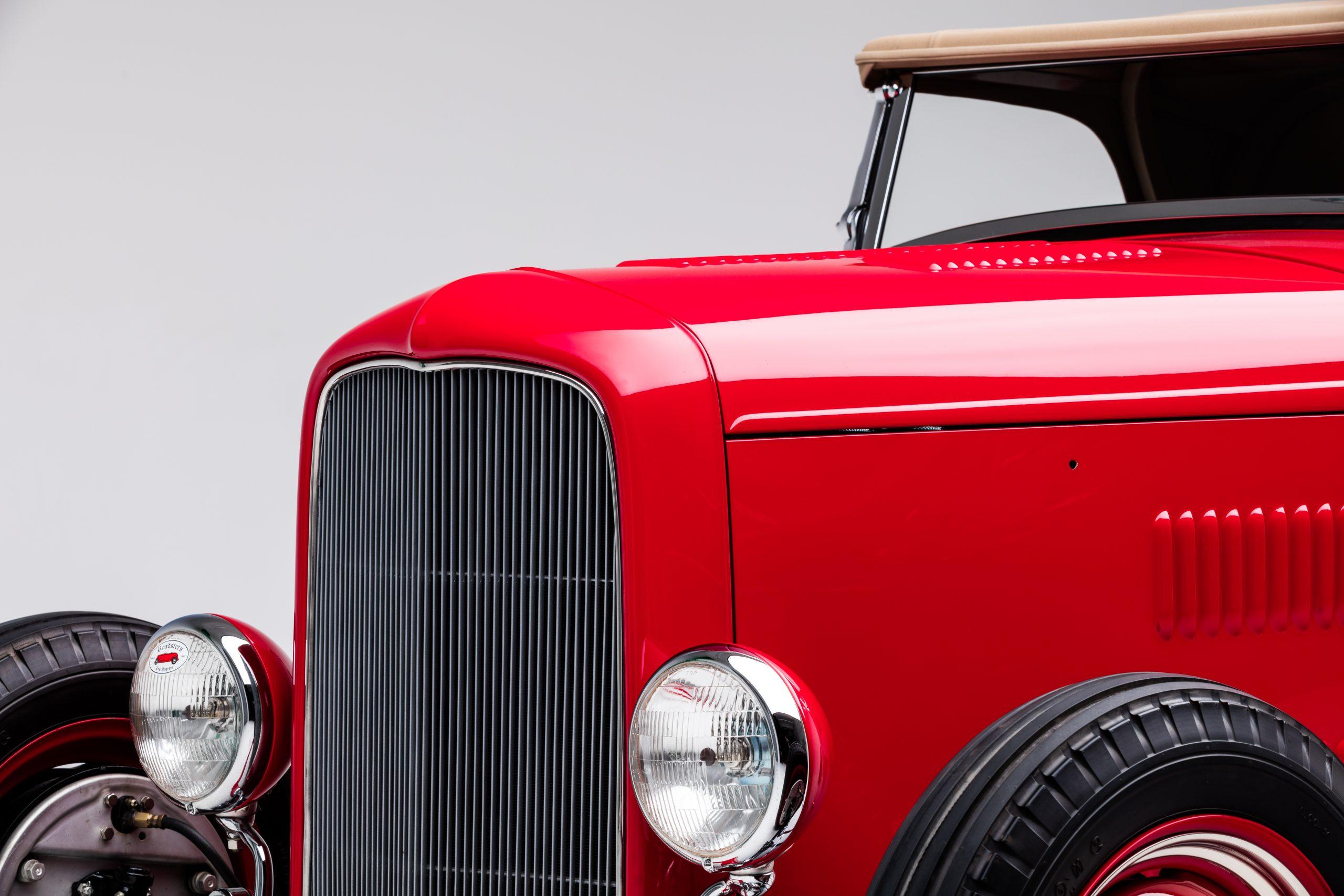 McGee Roadster - 1932 Ford - HVA - Studio 3 grille