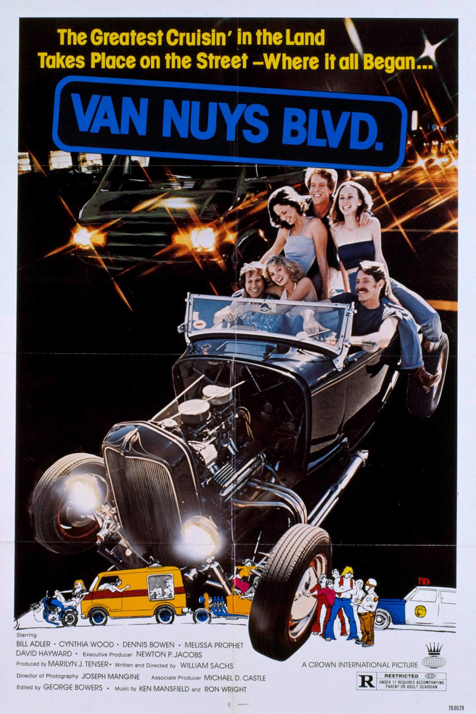 McGee Roadster - 1932 Ford - HVA - Van Nuys Blvd Poster