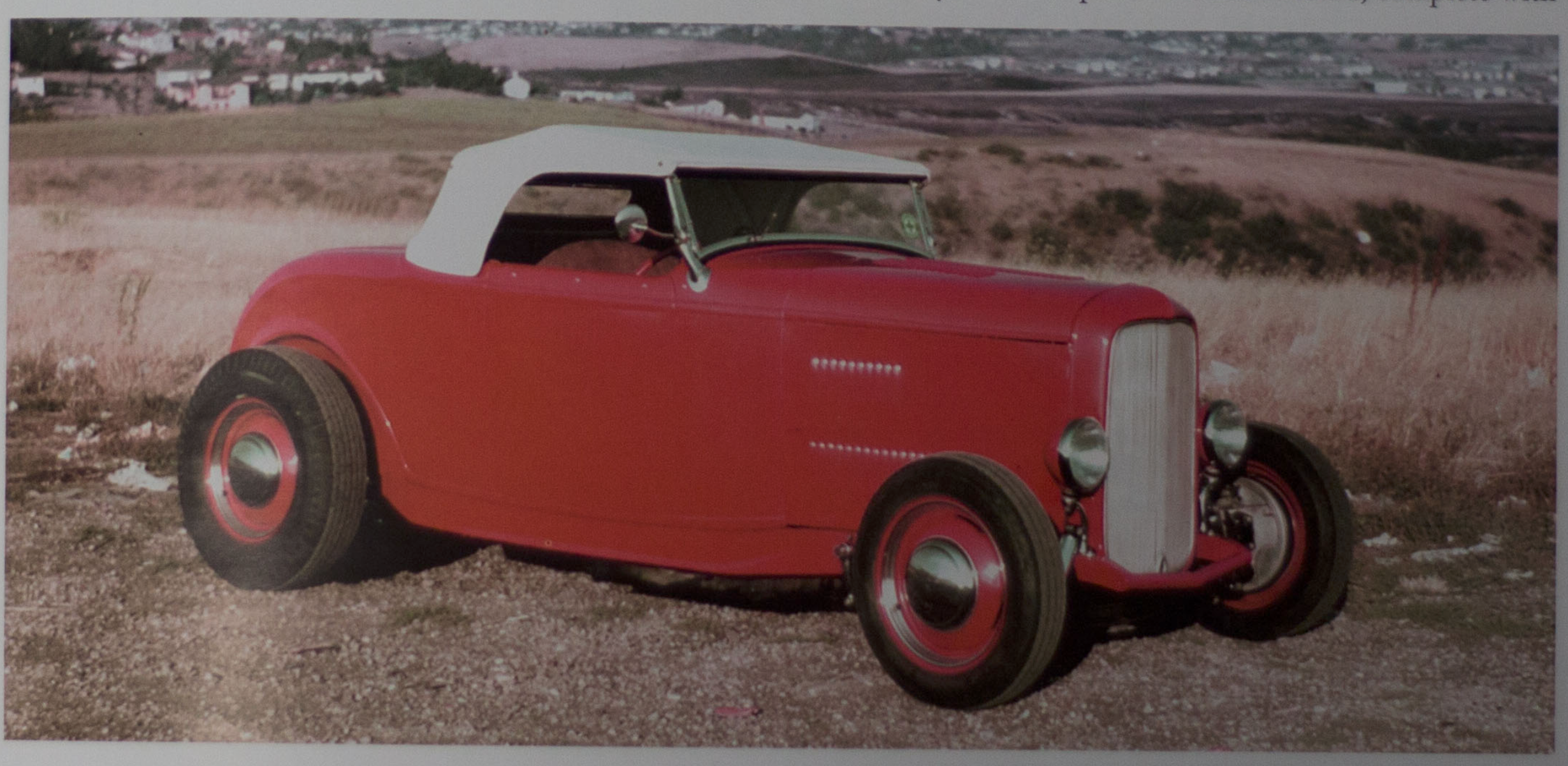 McGee Roadster - 1932 Ford - in period