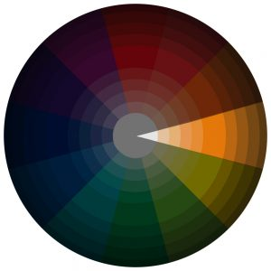 Monochromatic Color Scheme On CMYK Wheel