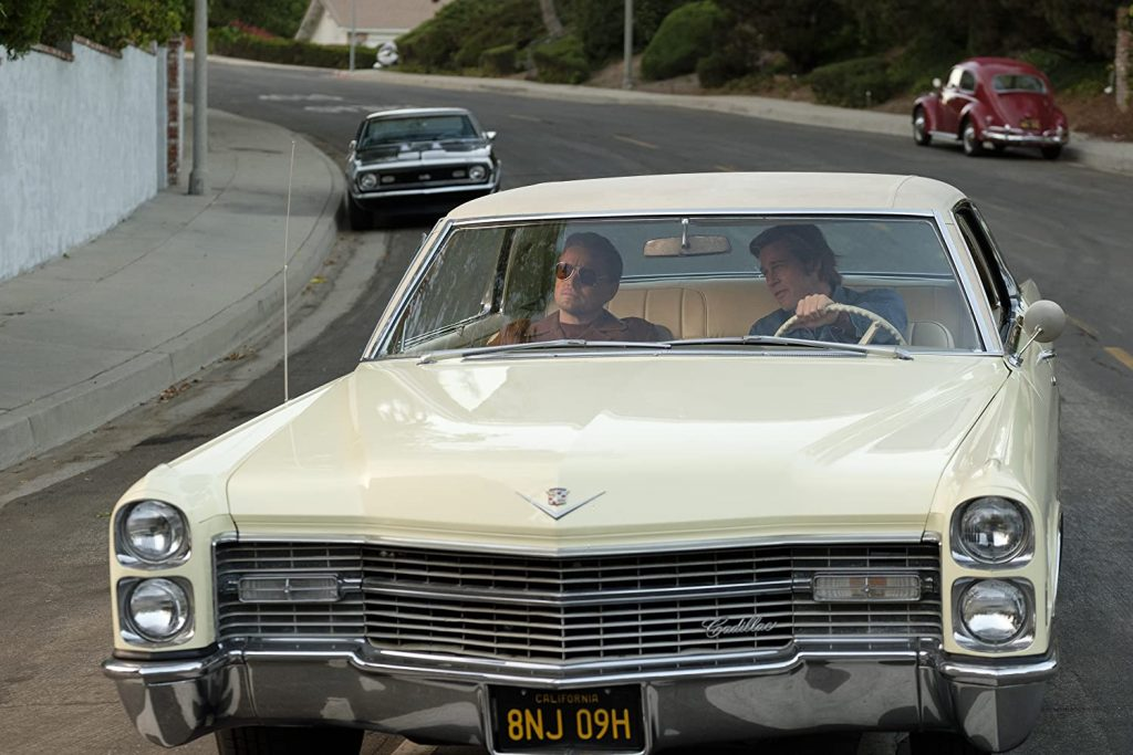 Pitt and DiCaprio in Cadillac