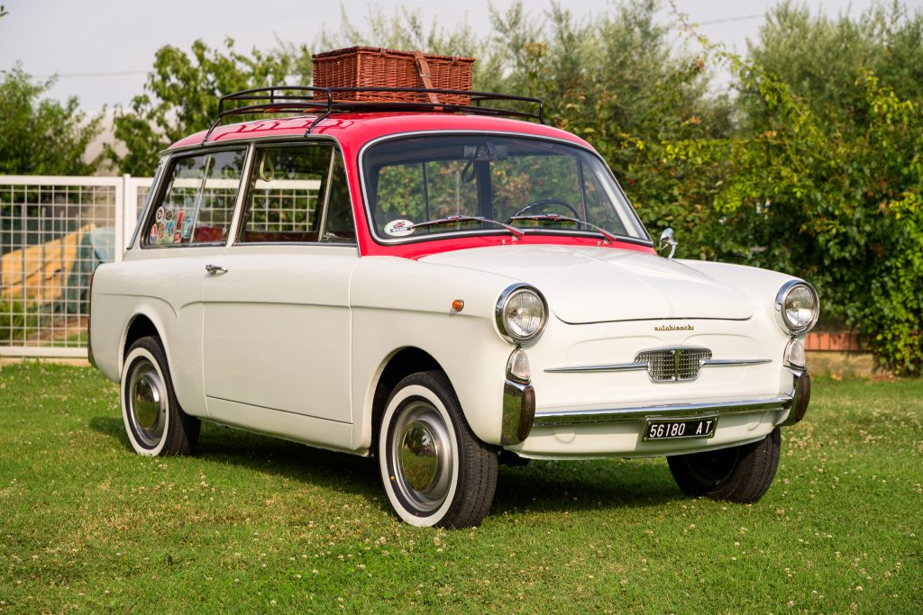 1966 Autobianchi Bianchina Panoramica Front Three-Quarter