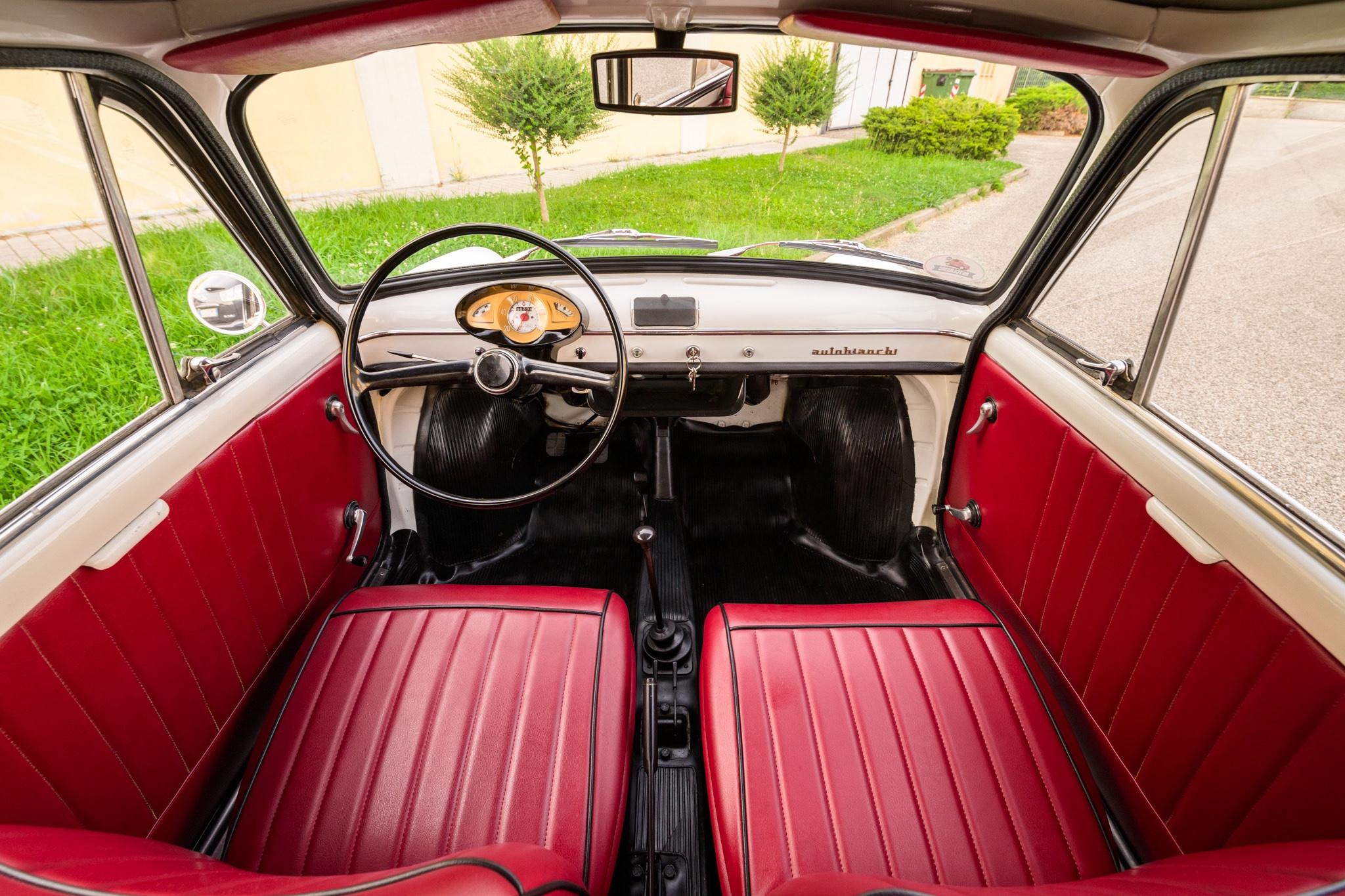 1966 Autobianchi Bianchina Panoramica Interior