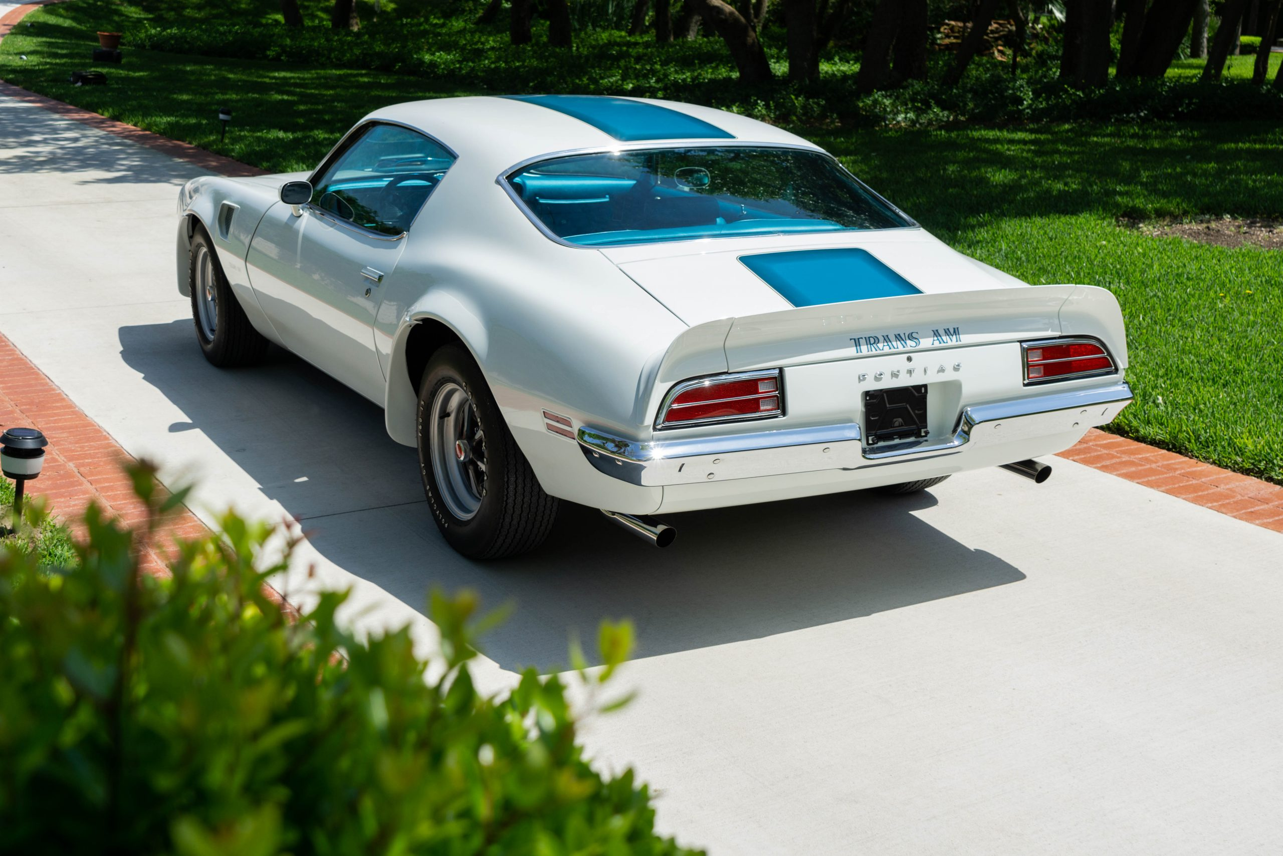 1970 Pontiac Trans Am Rear Three-Quarter