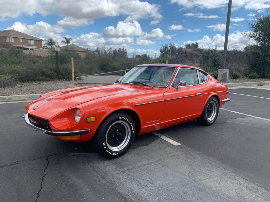 1972 Datsun 240Z Front Three-Quarter