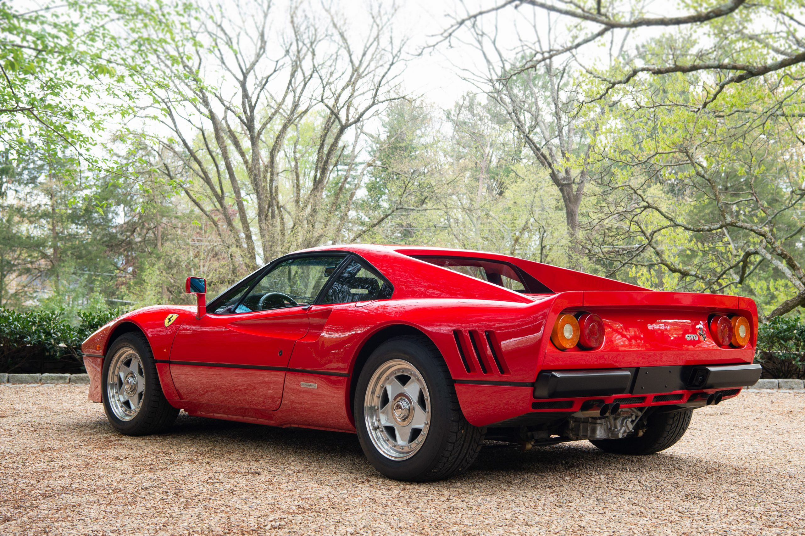 1985 Ferrari 288 GTO Rear Three-Quarter