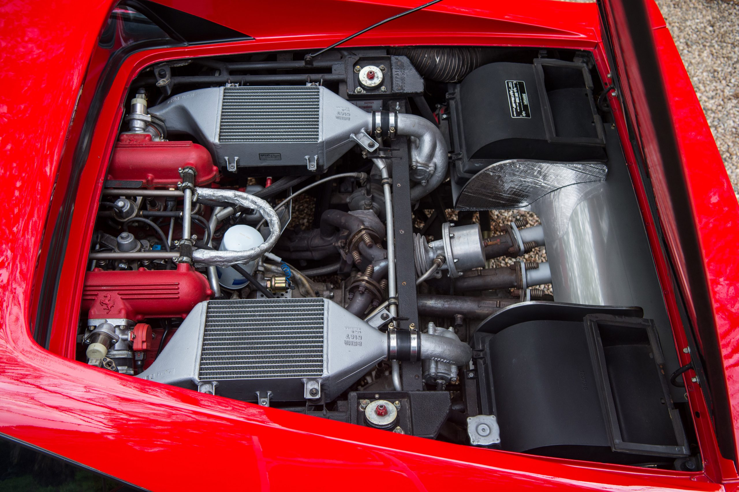 1985 Ferrari 288 GTO Engine