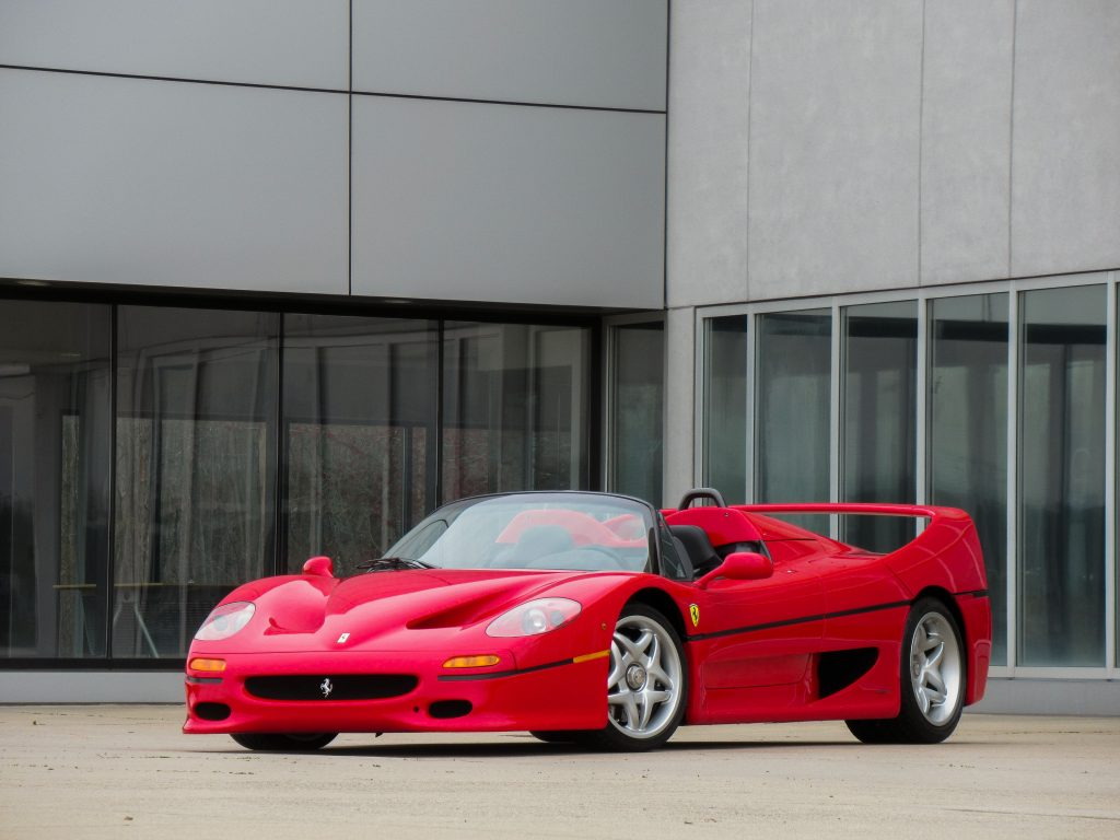 1995 Ferrari F50 Front Three-Quarter