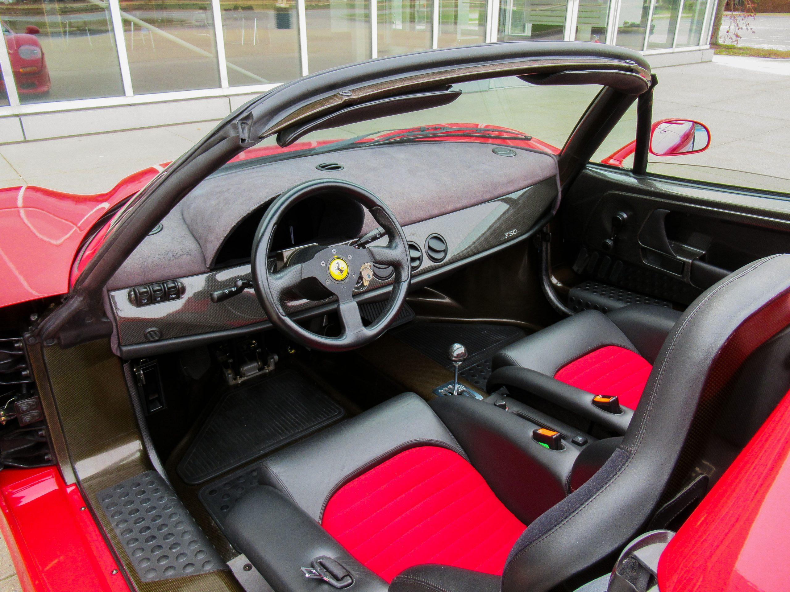1995 Ferrari F50 Interior