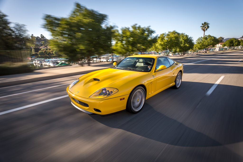 2002 Ferrari 575M Maranello Front Three-Quarter