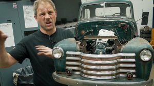 Installing the front clip on our 1950 Chevy pickup | Redline Update