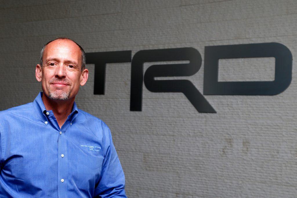 david wilson president and gm of toyota racing development