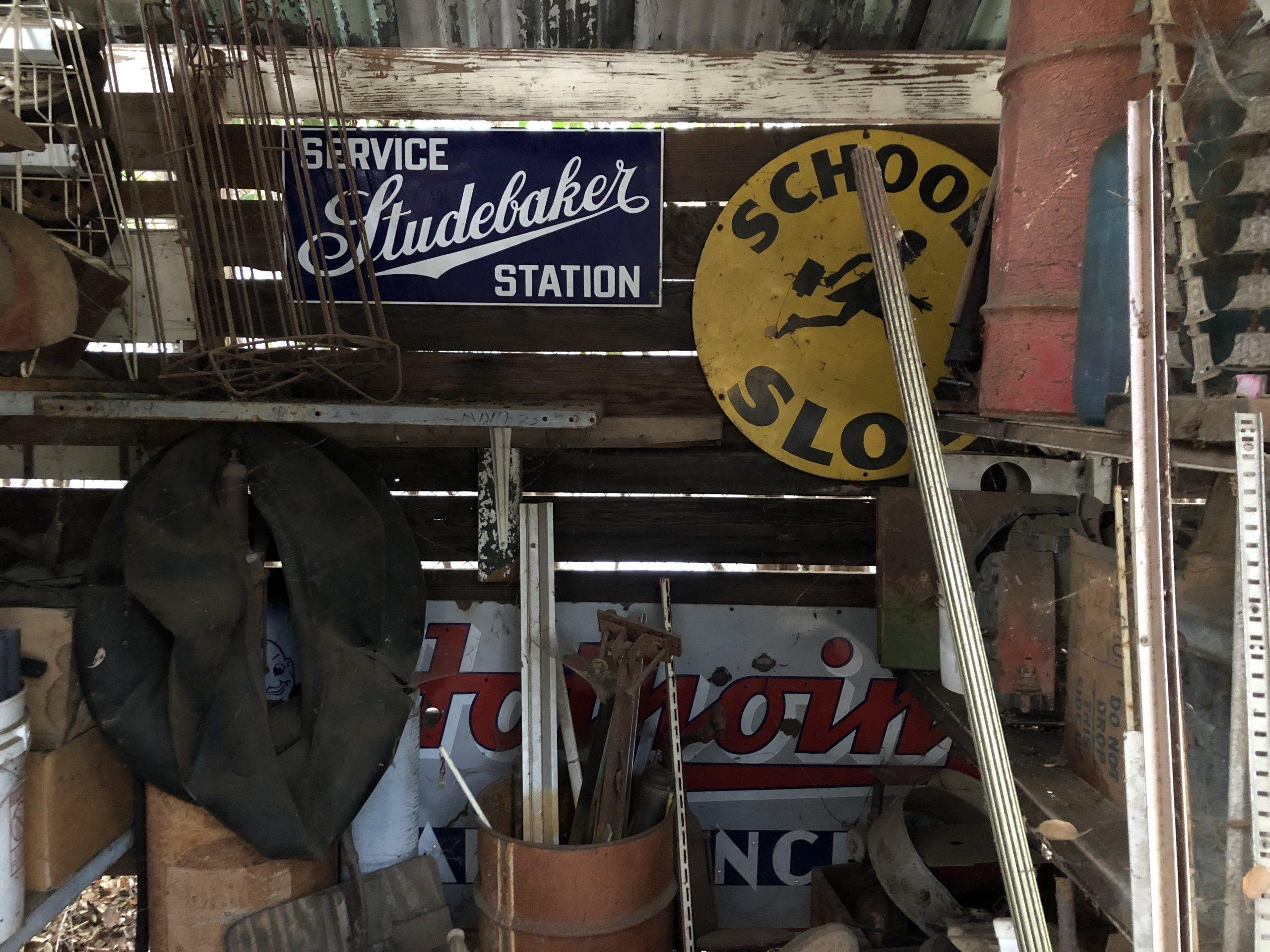 studebaker station vintage sign