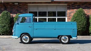 Volkswagen Type 2 transporter pickup side view