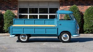 Volkswagen Type 2 Transporter fold down bed