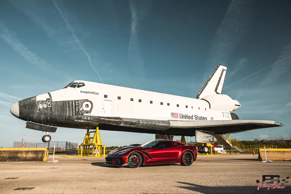 JB proving grounds corvette space shuttle