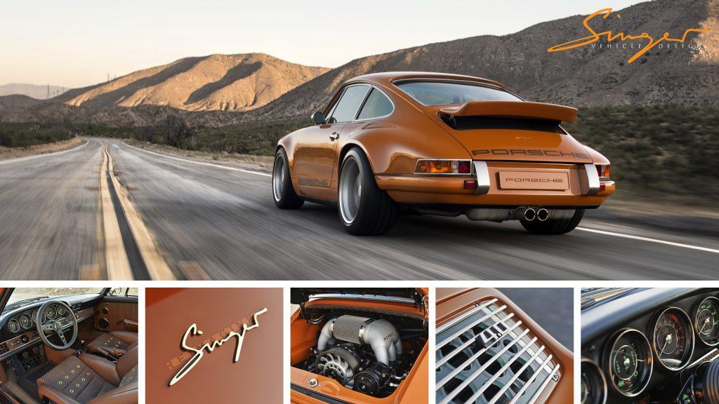 Bahrain Porsche Reimagined By Singer