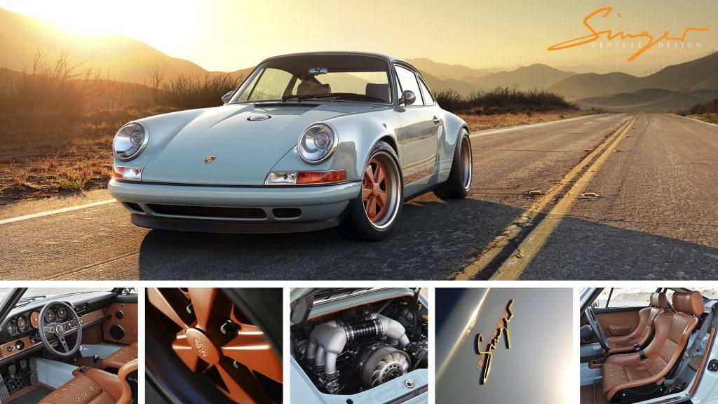 Dubai Porsche Reimagined By Singer