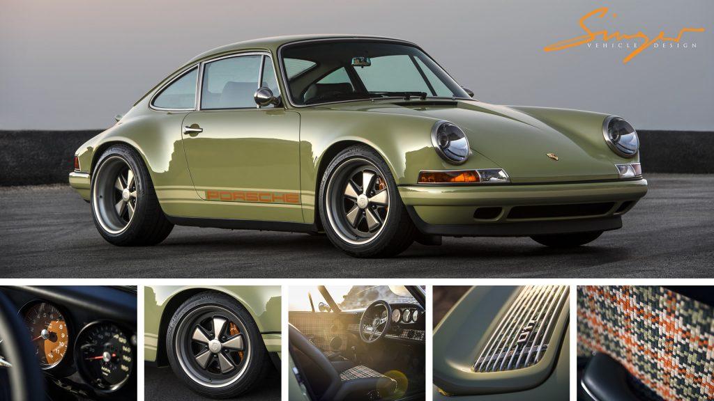 Manchester Porsche Reimagined By Singer