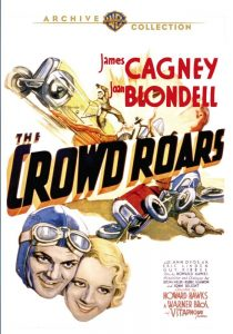 The Crowd Roars Movie Poster Starring Cagney And Blondell