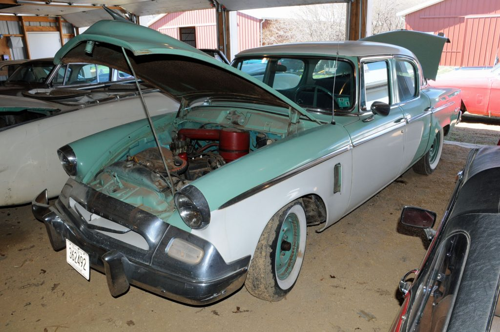 vanderbrink virgil marple auction 4 1955 studebaker Champion sedan