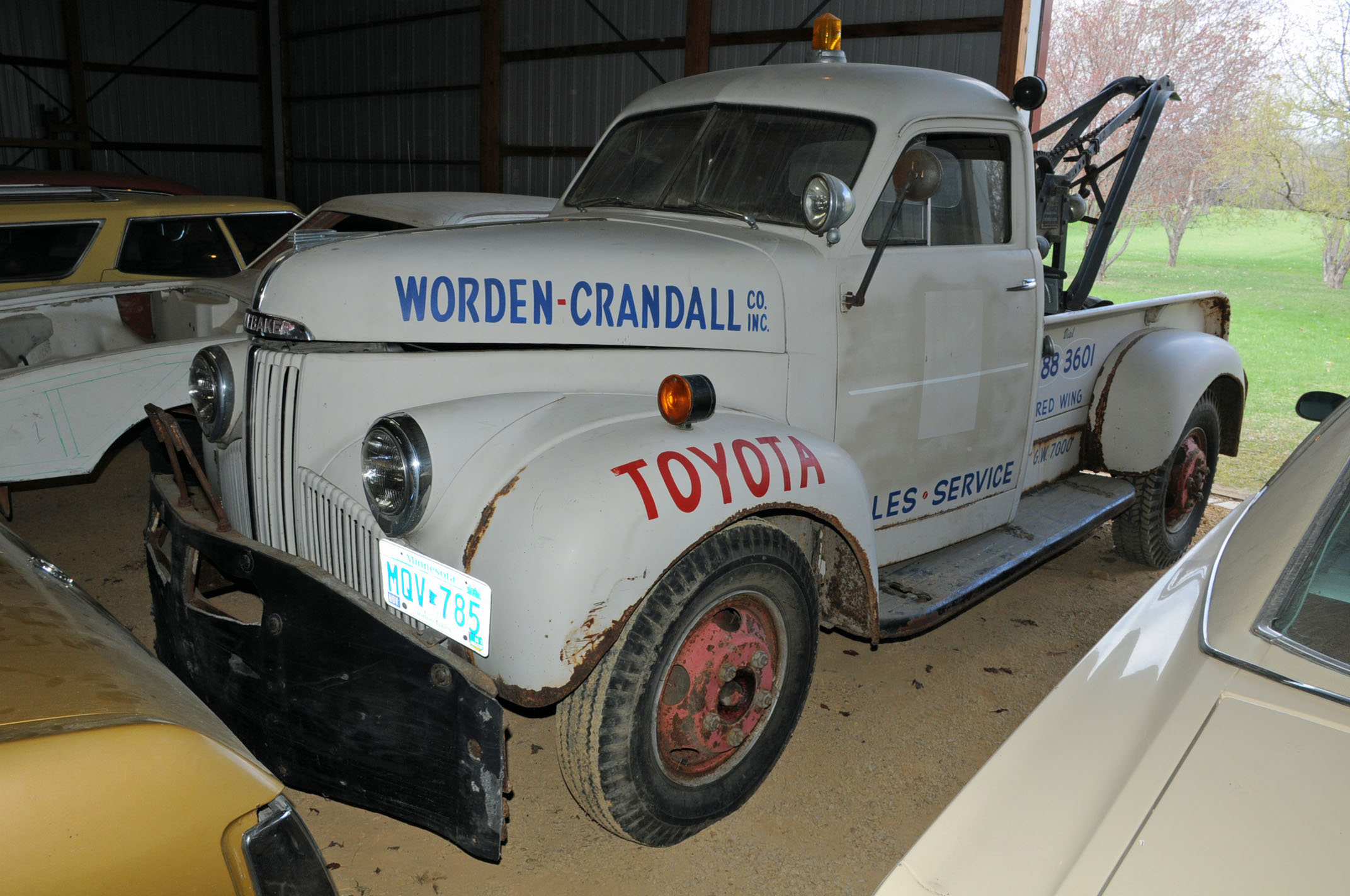 vanderbrink virgil marple auction 6 1947 studebaker M15