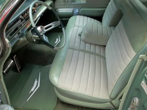 1961 sedan de ville interior seats