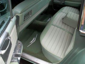 sedan de ville interior rear seat leather