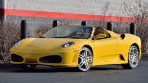 2007 Ferrari F430 yellow