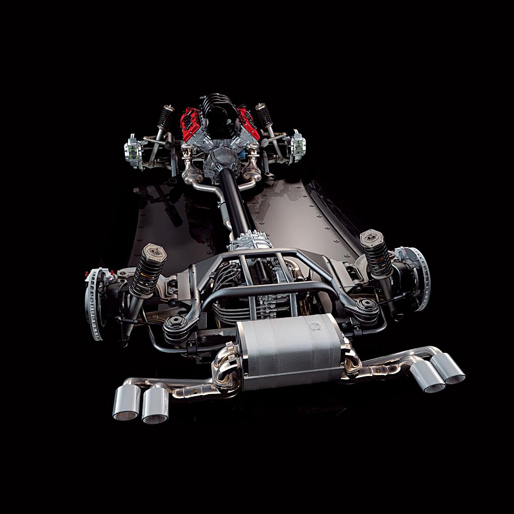 Alfa Romeo 8C Competizione_chassis